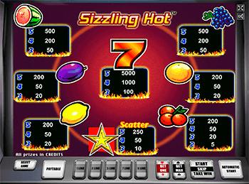 Игровой автомат Sizzling Hot - фото № 1