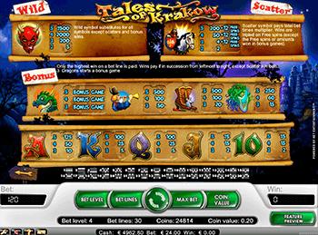 Игровой автомат Tales Of Krakow - фото № 3