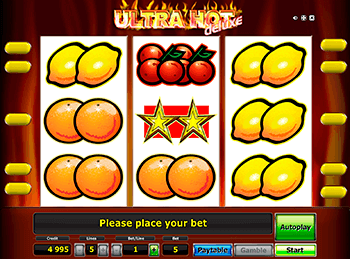 Игровой автомат Ultra Hot Deluxe - фото № 1