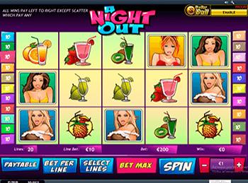 Игровой автомат A Night Out - фото № 1