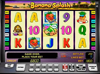 Игровой автомат Banana Splash - фото № 3