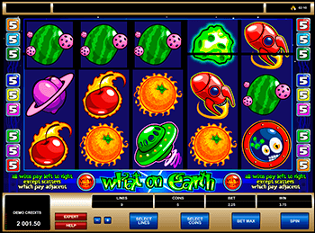 Игровой автомат What on Earth? - фото № 2