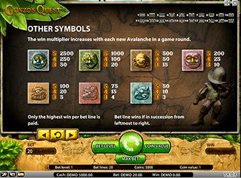 Игровой автомат Gonzo's Quest - фото № 4