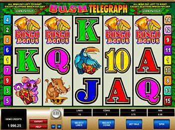 Игровой автомат Bush Telegraph - фото № 2