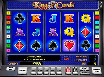 Игровой автомат King of Cards - фото № 1