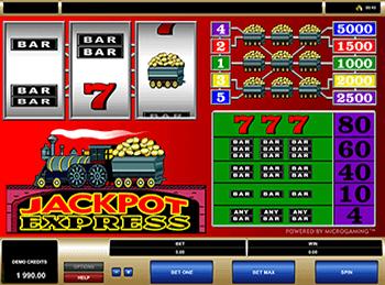 Игровой автомат Jackpot Express - фото № 1