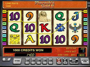 Игровой автомат Pharaoh's Gold II - фото № 1