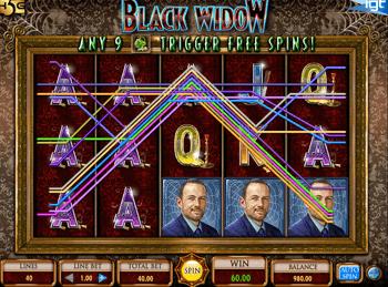Игровой автомат Black Widow - фото № 1