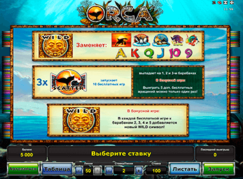 Игровой автомат Orca - фото № 2