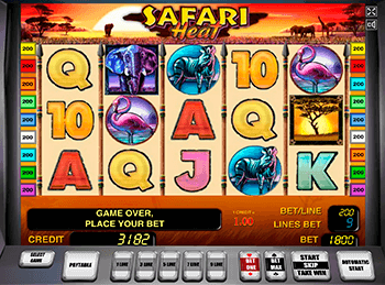 Игровой автомат Safari Heat - фото № 1