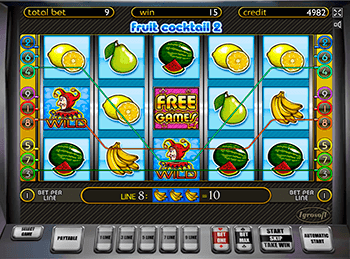 Игровой автомат Fruit Cocktail 2 - фото № 4