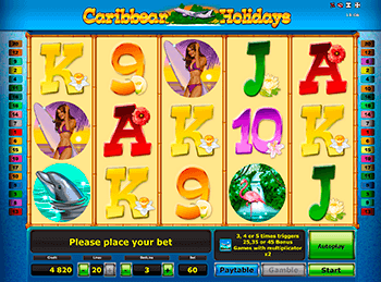 Игровой автомат Caribbean Holidays - фото № 4