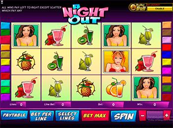 Игровой автомат A Night Out - фото № 2