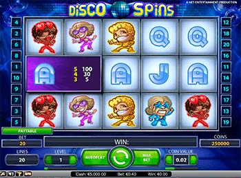 Игровой автомат Disco Spins - фото № 2