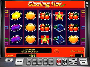 Игровой автомат Sizzling Hot - фото № 3