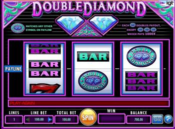 Игровой автомат Double Diamond - фото № 4