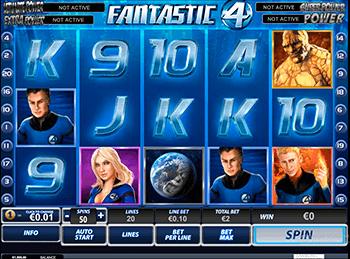 Игровой автомат Fantastic Four - фото № 1