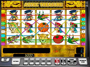 Игровой автомат Aztec Treasures 3D - фото № 2