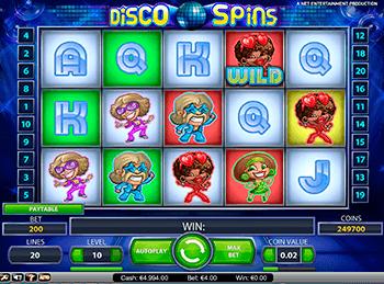 Игровой автомат Disco Spins - фото № 6