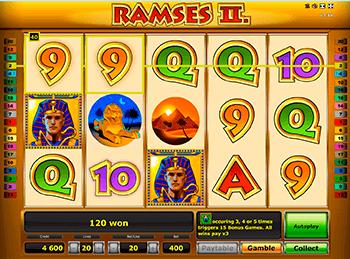 Игровой автомат Ramses II Deluxe - фото № 4