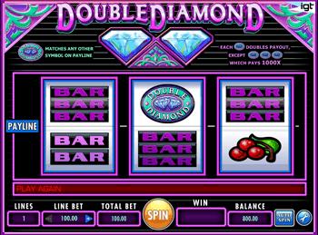 Игровой автомат Double Diamond - фото № 2