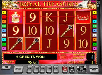 Игровой автомат Royal Treasures - фото № 1