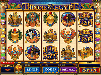 Игровой автомат Throne Of Egypt - фото № 4