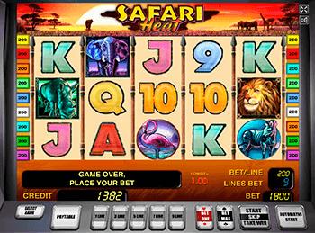 Игровой автомат Safari Heat - фото № 2