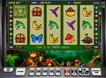 Игровой автомат Crazy Monkey 2 - фото № 5