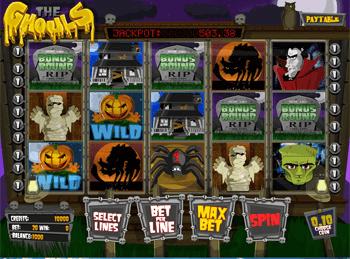 Игровой автомат The Ghouls - фото № 2