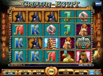 Игровой автомат Crown of Egypt - фото № 1