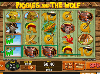 Игровой автомат Piggies And The Wolf - фото № 3