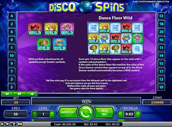 Игровой автомат Disco Spins - фото № 3