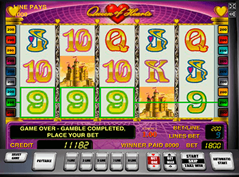 Игровой автомат Queen of Hearts - фото № 1