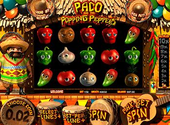 Игровой автомат Paco And Popping Peppers - фото № 4