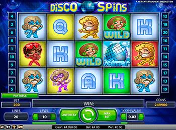 Игровой автомат Disco Spins - фото № 5